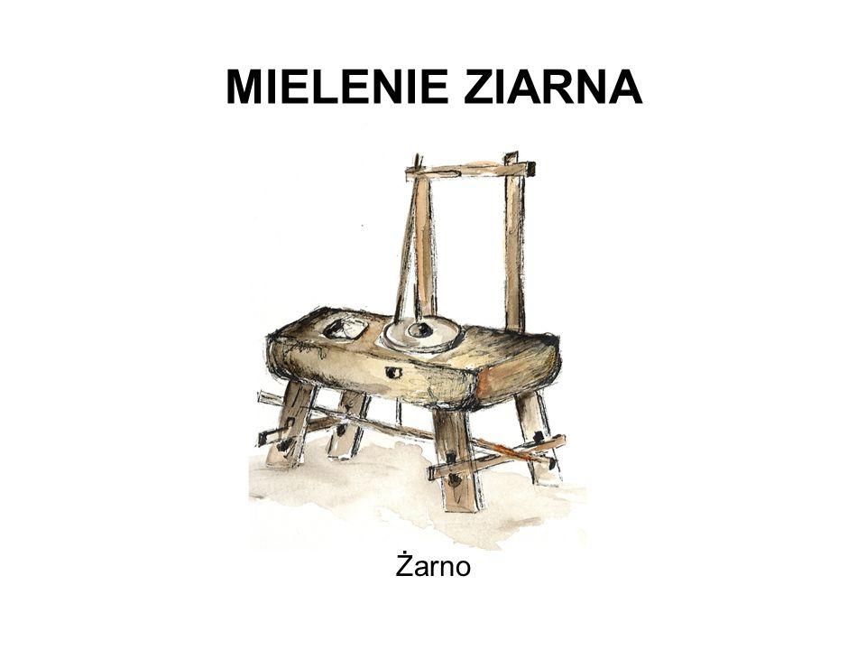 MIELENIE ZIARNA Żarno