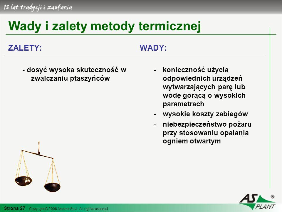 Wady i zalety metody termicznej