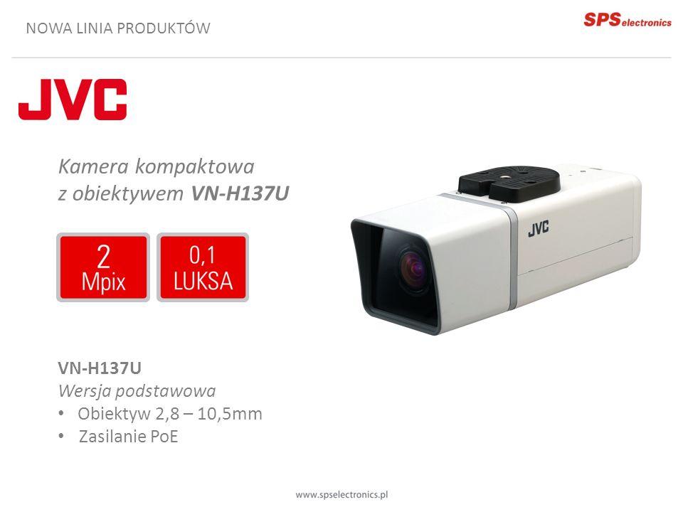 Kamera kompaktowa z obiektywem VN-H137U VN-H137U Wersja podstawowa