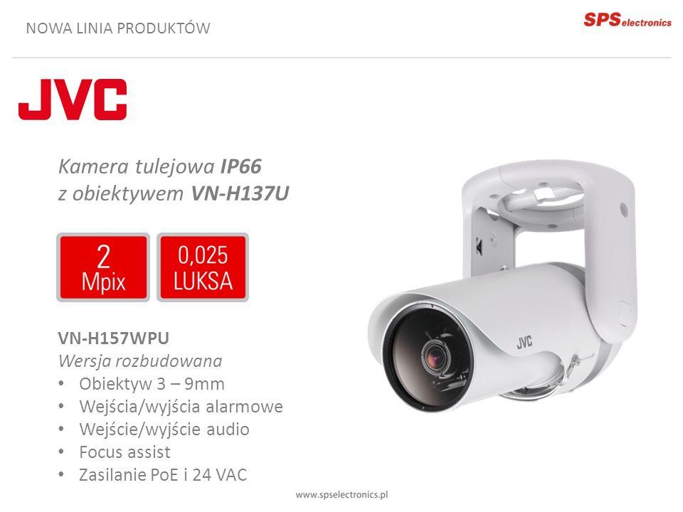 Kamera tulejowa IP66 z obiektywem VN-H137U VN-H157WPU
