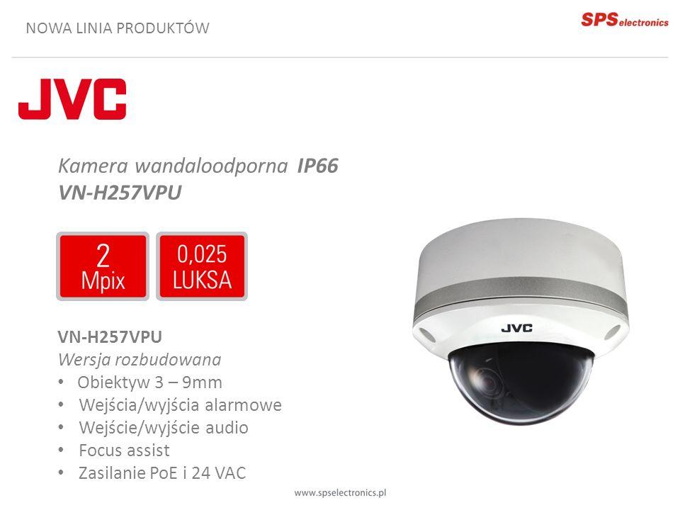 Kamera wandaloodporna IP66 VN-H257VPU