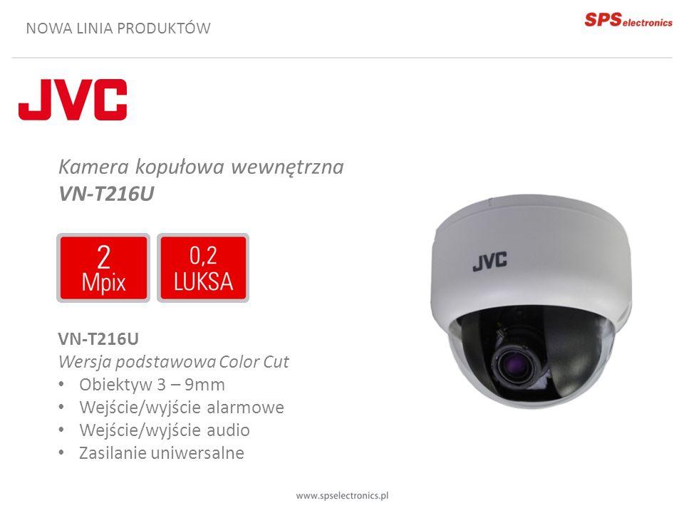 Kamera kopułowa wewnętrzna VN-T216U