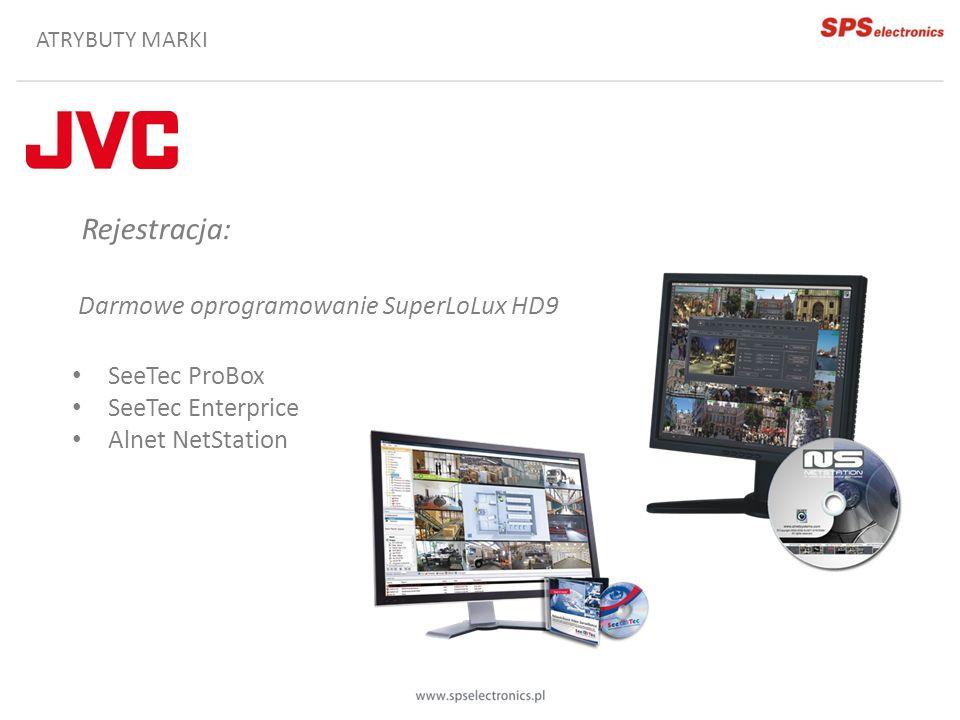 Rejestracja: Darmowe oprogramowanie SuperLoLux HD9 SeeTec ProBox