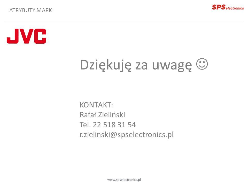 Dziękuję za uwagę  KONTAKT: Rafał Zieliński Tel. 22 518 31 54