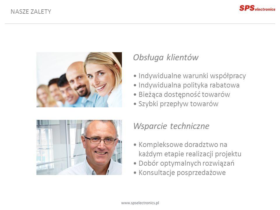 Obsługa klientów Wsparcie techniczne • Indywidualne warunki współpracy