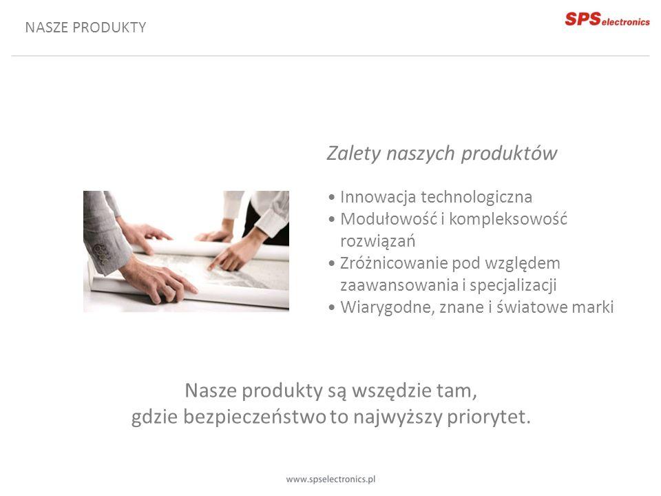 Zalety naszych produktów