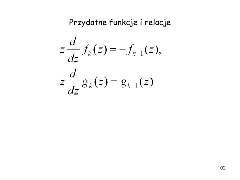 Przydatne funkcje i relacje