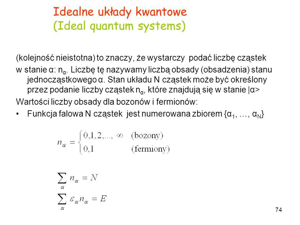 Idealne układy kwantowe (Ideal quantum systems)