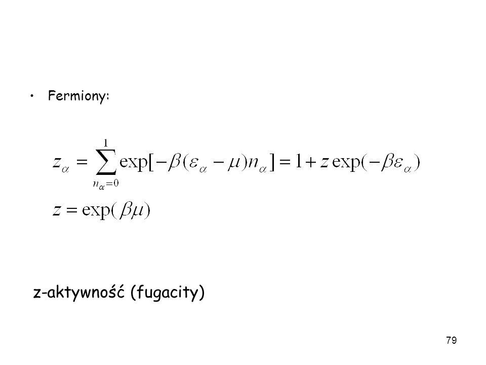 z-aktywność (fugacity)