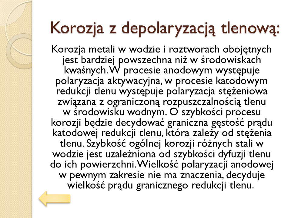 Korozja z depolaryzacją tlenową:
