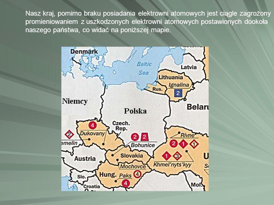 Nasz kraj, pomimo braku posiadania elektrowni atomowych jest ciągle zagrożony