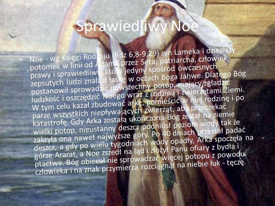Sprawiedliwy Noe