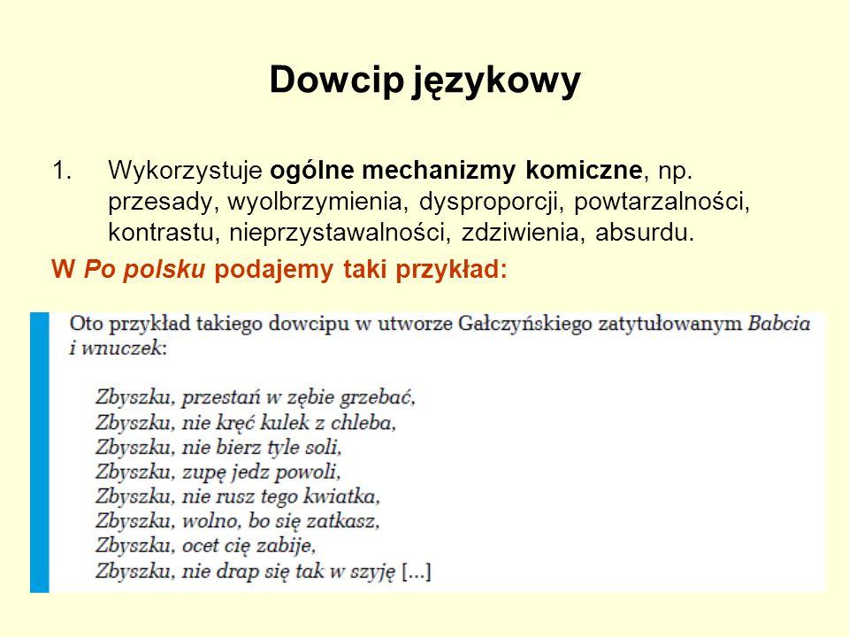 Dowcip językowy