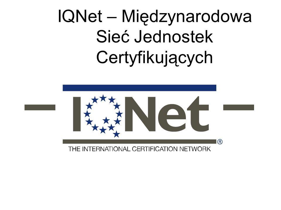 IQNet – Międzynarodowa Sieć Jednostek Certyfikujących