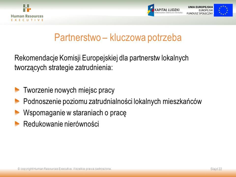 Partnerstwo – kluczowa potrzeba