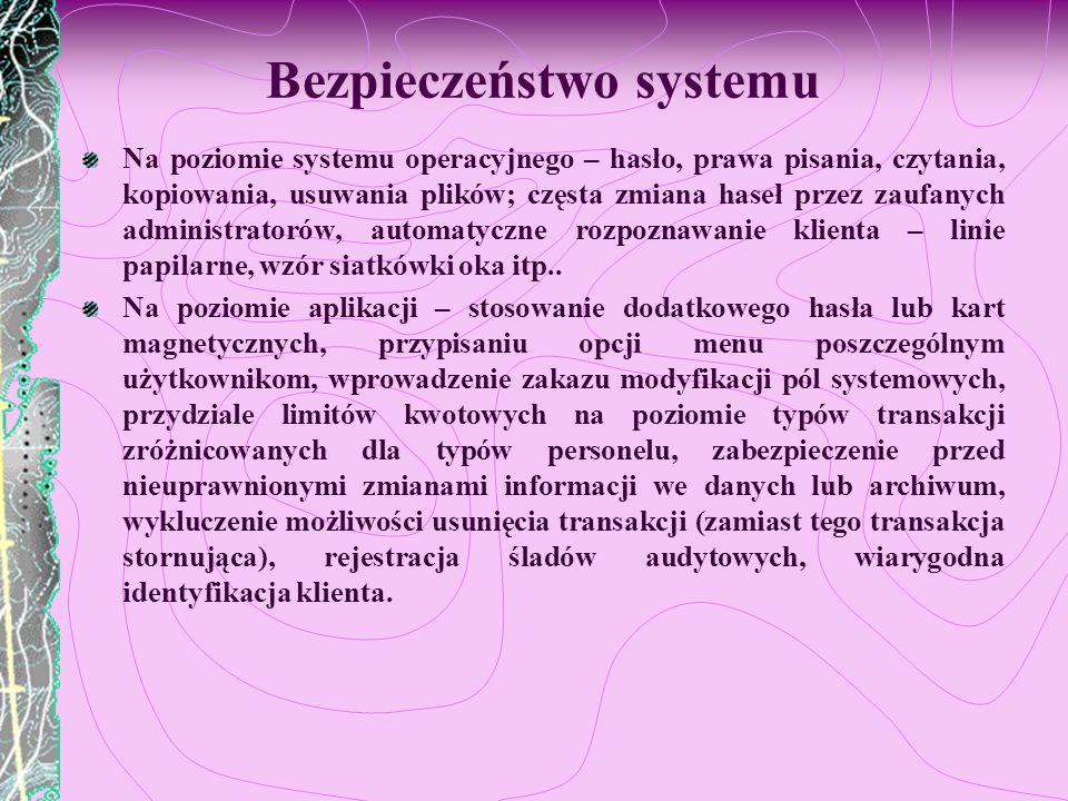 Bezpieczeństwo systemu