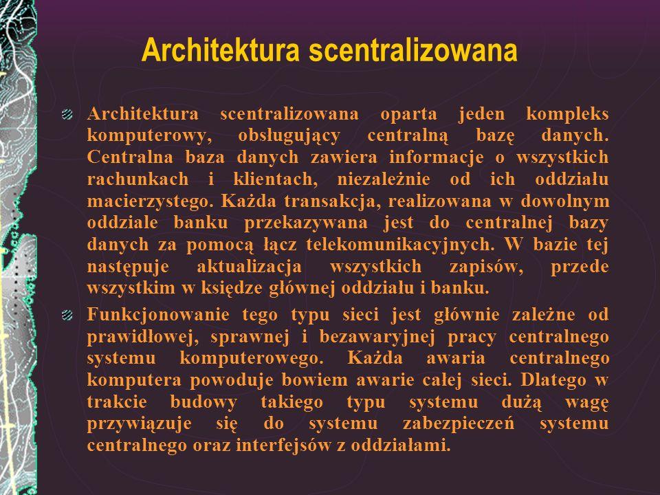Architektura scentralizowana