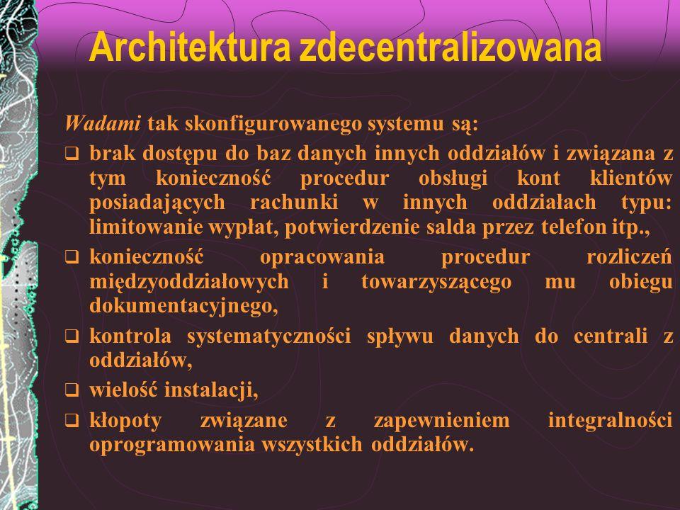 Architektura zdecentralizowana