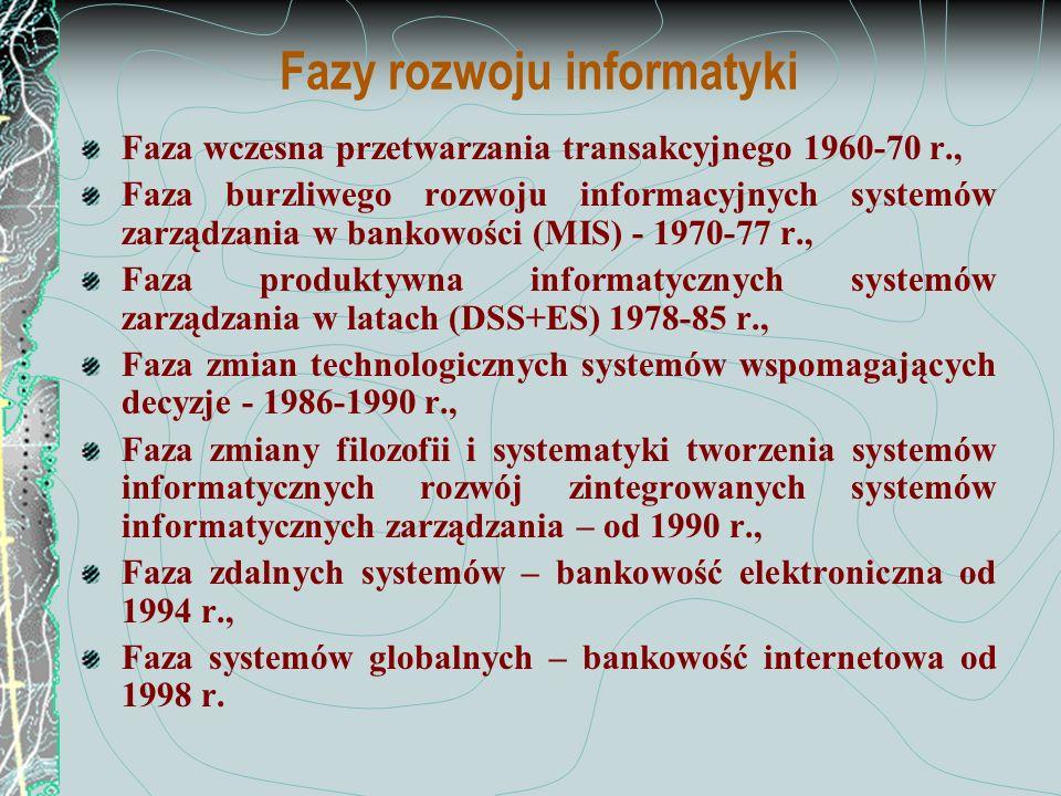 Fazy rozwoju informatyki