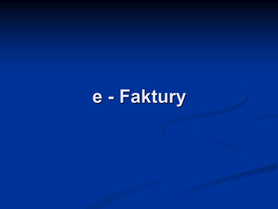 e - Faktury