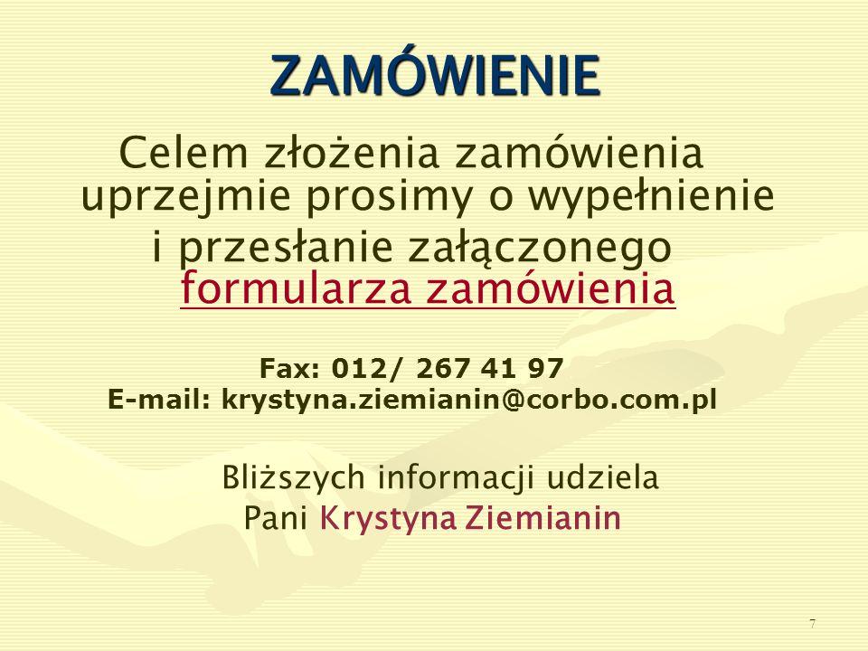 E-mail: krystyna.ziemianin@corbo.com.pl