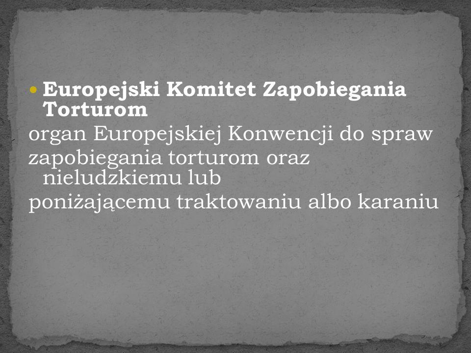 Europejski Komitet Zapobiegania Torturom