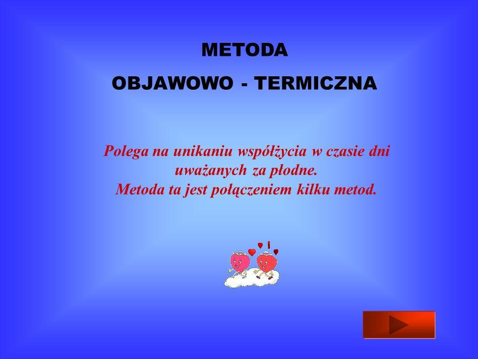 METODA OBJAWOWO - TERMICZNA