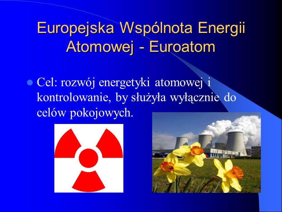 Europejska Wspólnota Energii Atomowej - Euroatom