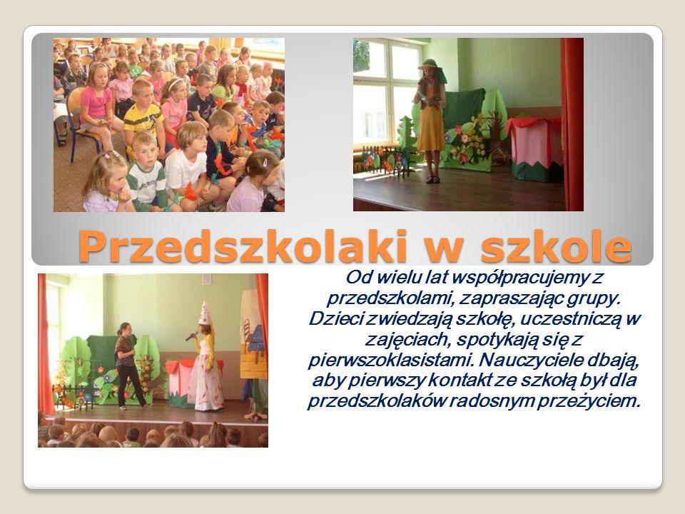 Przedszkolaki w szkole