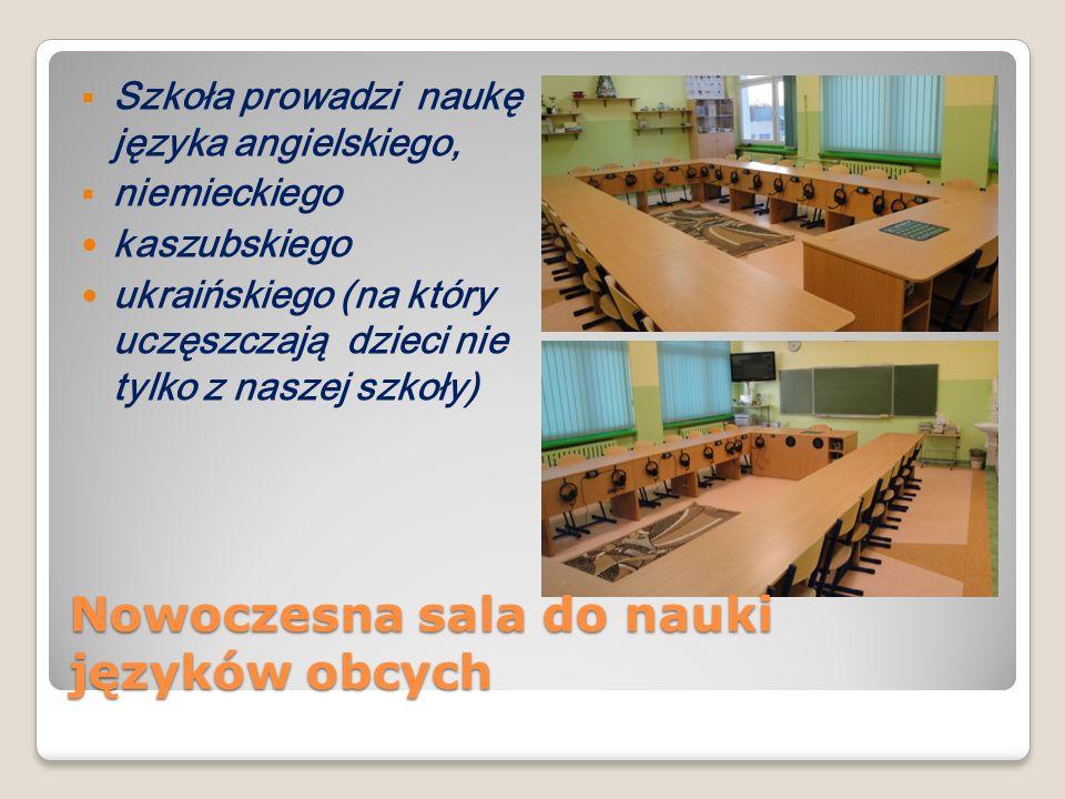 Nowoczesna sala do nauki języków obcych