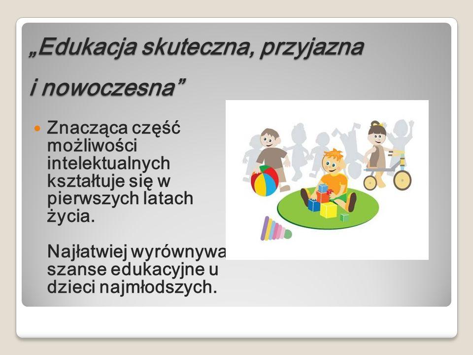 """""""Edukacja skuteczna, przyjazna i nowoczesna"""
