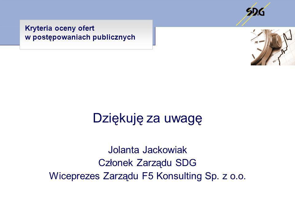 Wiceprezes Zarządu F5 Konsulting Sp. z o.o.