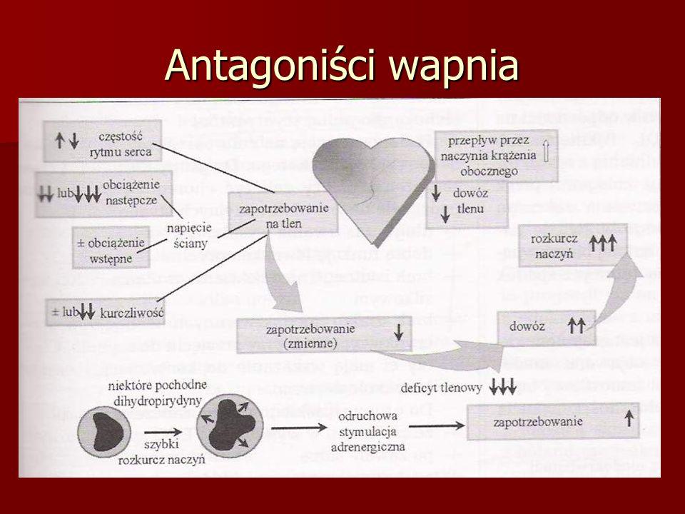 Antagoniści wapnia