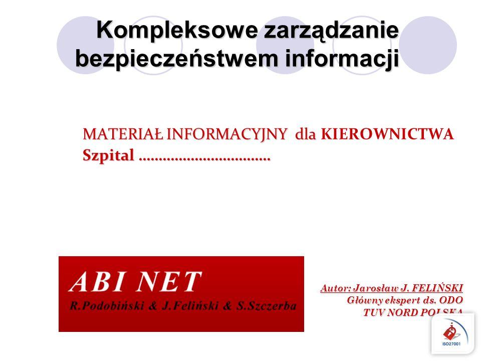 Kompleksowe zarządzanie bezpieczeństwem informacji