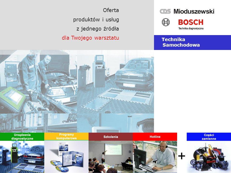 + Oferta produktów i usług z jednego źródła dla Twojego warsztatu