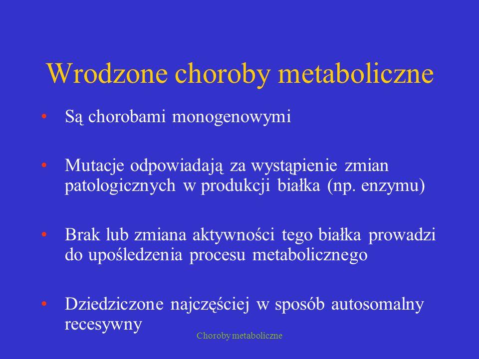 Wrodzone choroby metaboliczne