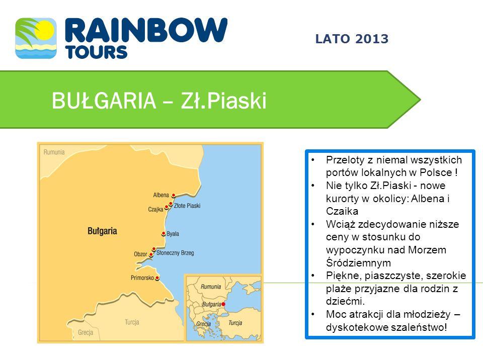 BUŁGARIA – Zł.Piaski 3/24/2017 LATO 2013