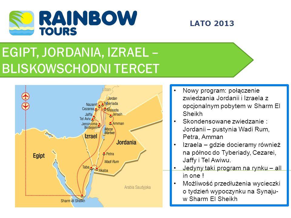 EGIPT, JORDANIA, IZRAEL – BLISKOWSCHODNI TERCET