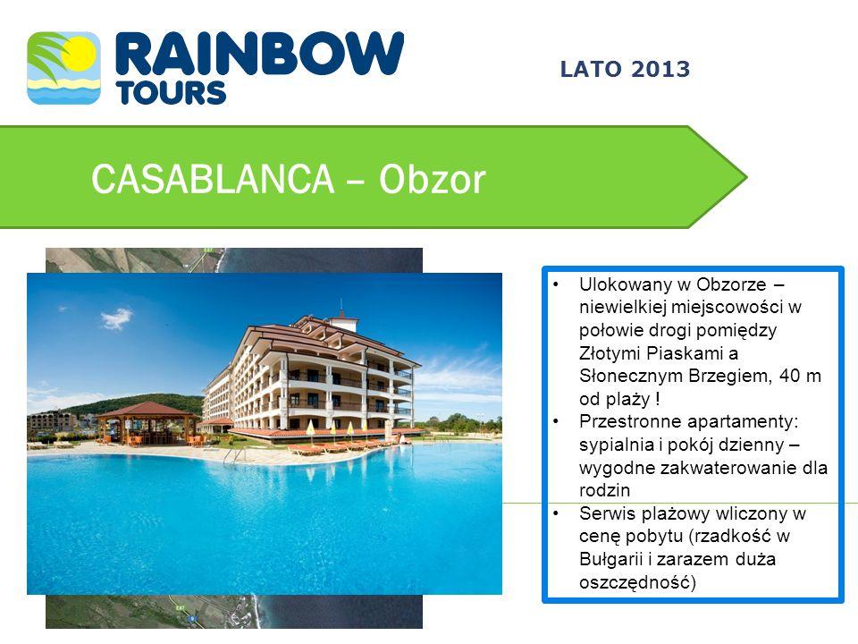 CASABLANCA – Obzor 3/24/2017 LATO 2013