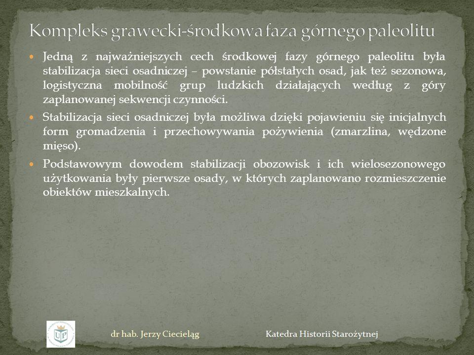 Kompleks grawecki-środkowa faza górnego paleolitu