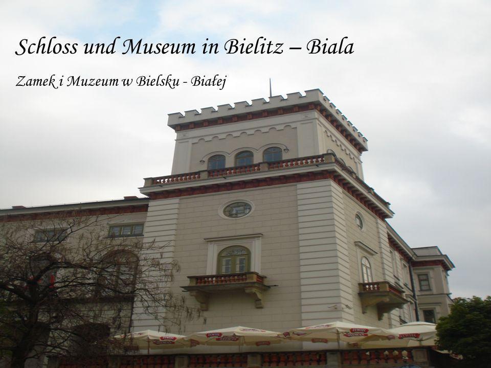 Schloss und Museum in Bielitz – Biala