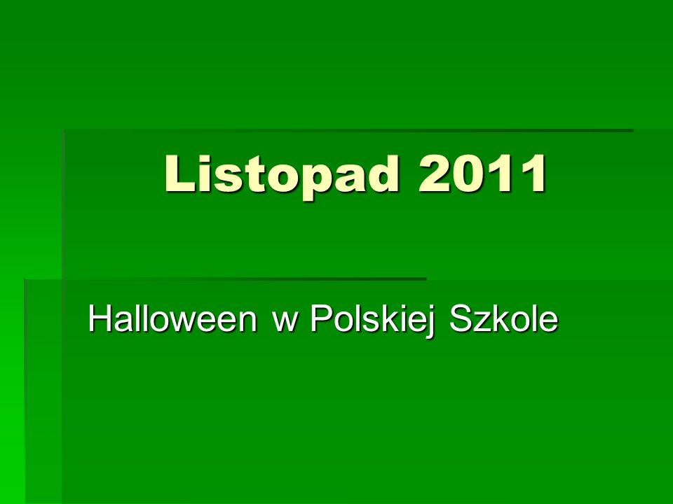 Halloween w Polskiej Szkole