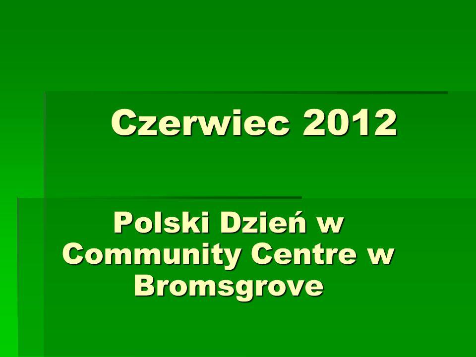 Polski Dzień w Community Centre w Bromsgrove