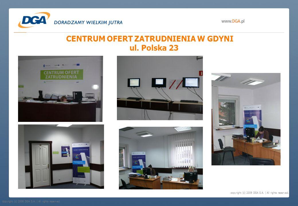 CENTRUM OFERT ZATRUDNIENIA W GDYNI ul. Polska 23