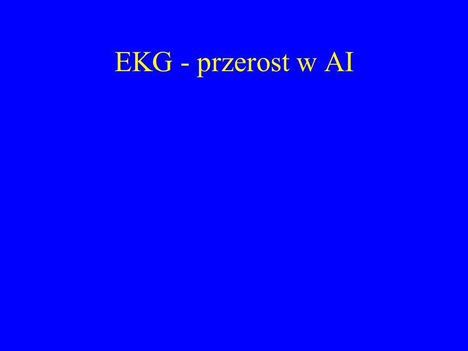 EKG - przerost w AI