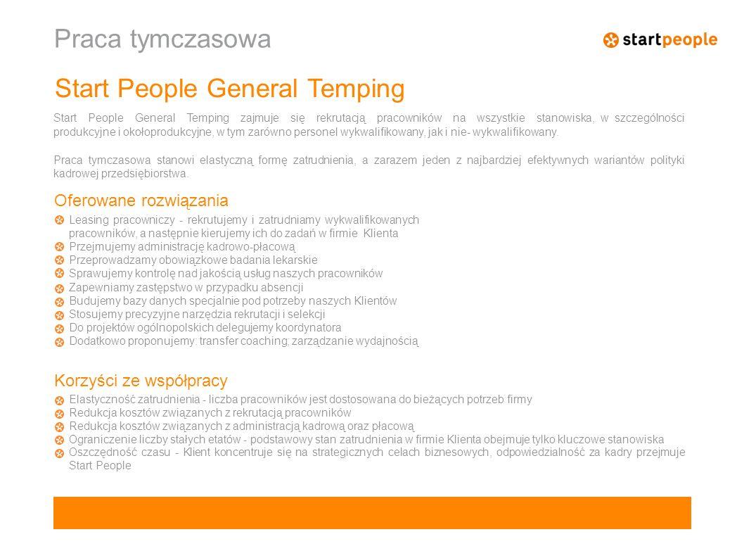 Start People General Temping