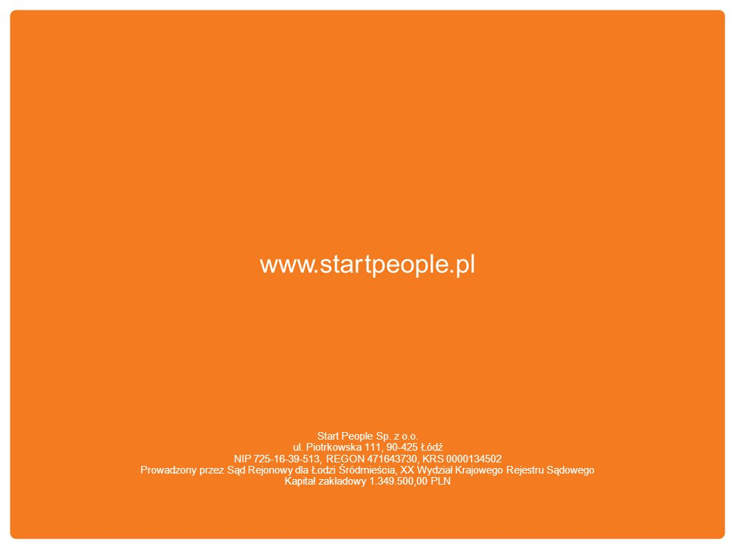 Start People Sp. z o.o. ul.