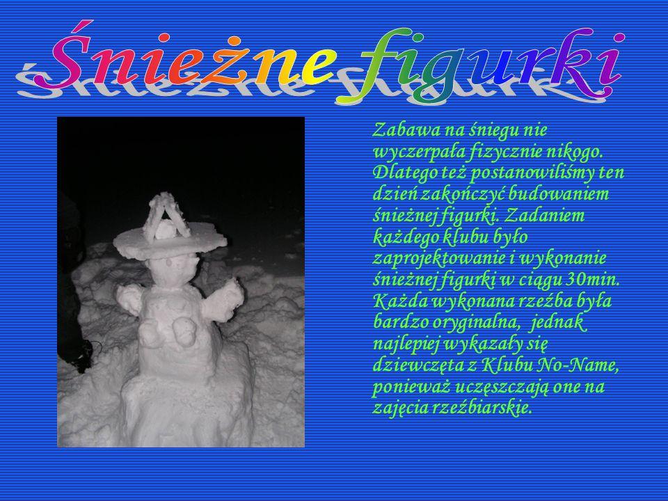 Śnieżne figurki