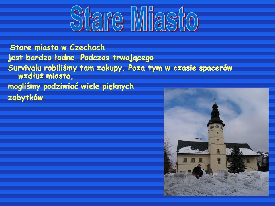 Stare Miasto Stare miasto w Czechach