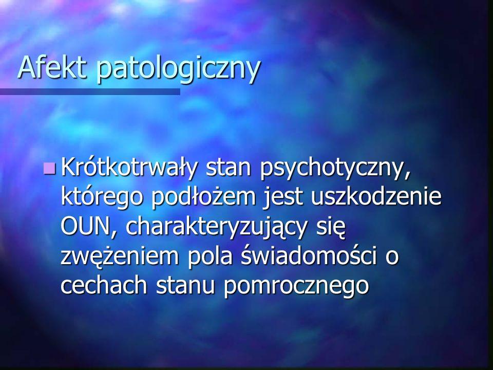 Afekt patologiczny